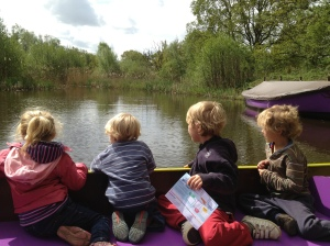 On the way into Biwilderwood, the best adventure play park ever!